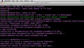 Testing Vim iOS Mobile App with Cucumber & Calabash