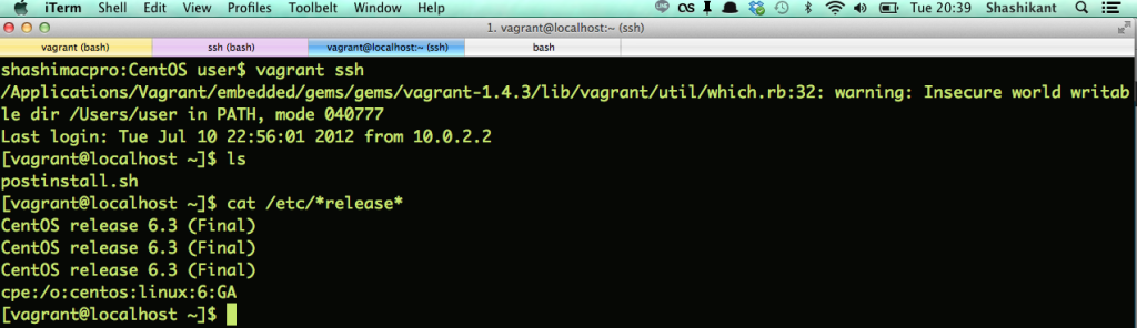 vagrant_ssh
