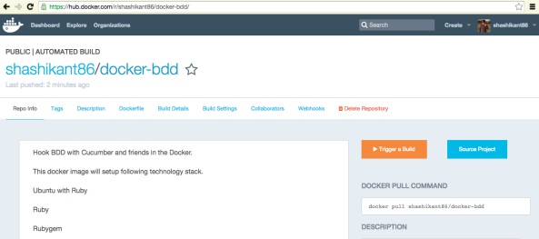 Dockerizing Cucumber-BDD and Ruby Friends