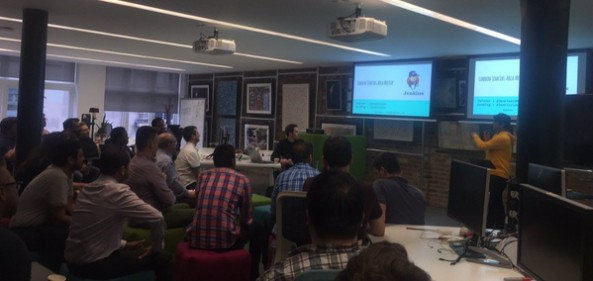 Inaugural London Jenkins Area Meetup #jenkinsldn