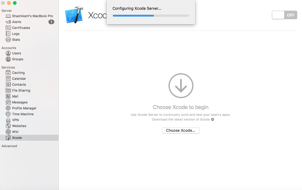 Continuous Integration with Xcode Server on macOS: Complete