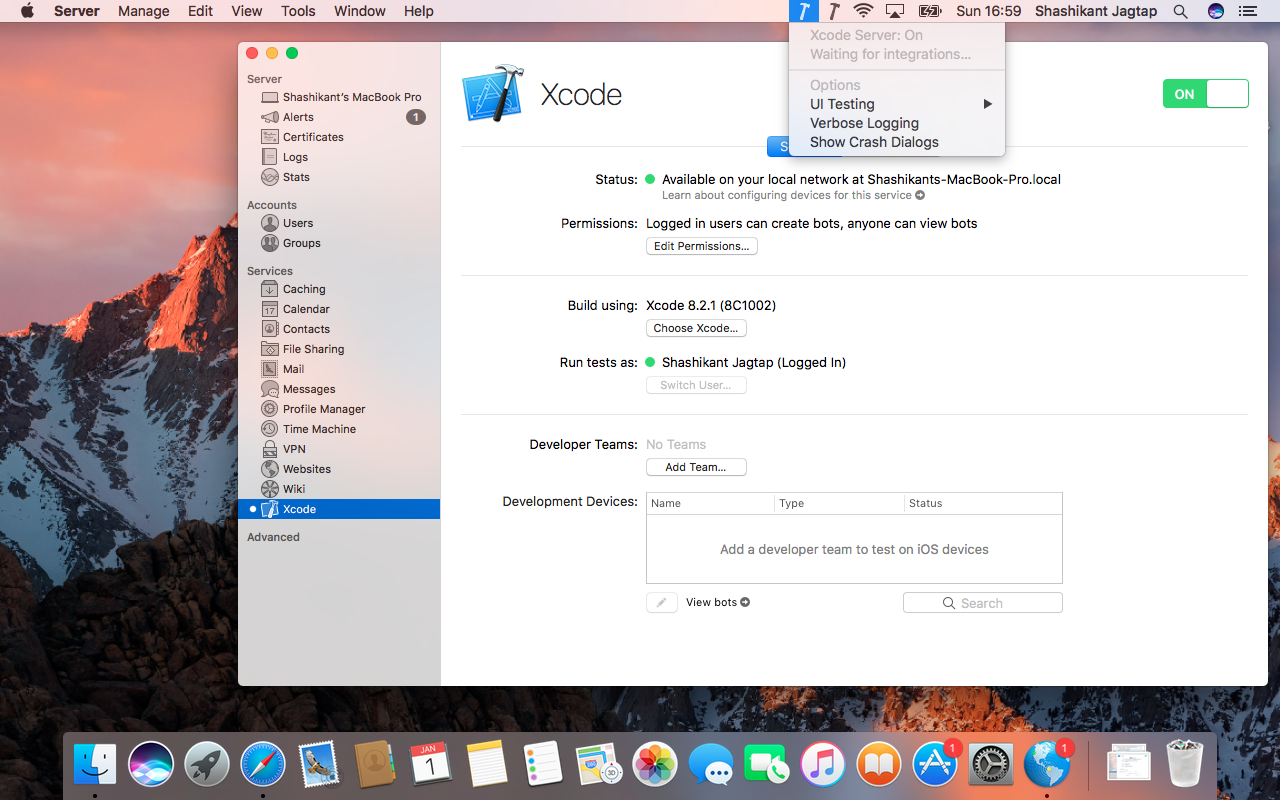 Continuous Integration with Xcode Server on macOS: Complete Setup