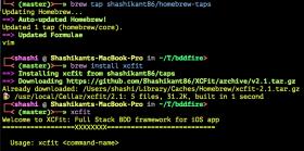 Adding Homebrew Support to XCFit Framework